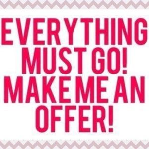 Accepting All Reasonable Offers! ☀️💗